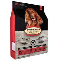 Kompletní v troubě pečené chovatelské krmivo pro dospělé psy s jehněčím masem. Střední granule.