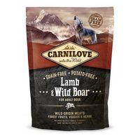 Kompletní, vyvážené a kvalitní krmivo pro dospělé psy s divočákem a jehněčím masem - 55% masa. Bez obilovin.