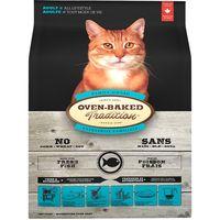 Kompletní pečené krmivo pro dospělé kočky. Receptura s rybím masem - 42%.