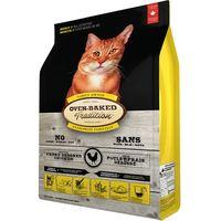 Kompletní pečené krmivo pro dospělé kočky. Receptura s kuřecím masem - 43%.