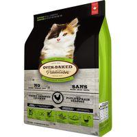 Kompletní pečené krmivo pro koťata. Receptura s kuřecím masem - 42,7%.