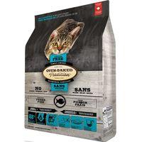 Kompletní pečené krmivo pro kočky všech věkových stadií. Receptura s rybím masem - 55% bez obilovin.