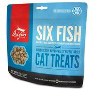 Doplňkové krmivo pro kočky všech plemen a všech věkových kategorií. Obsahuje volně lovené ryby ze severu ostrova Vancouver