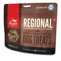 Doplňkové krmivo pro psy všech plemen a všech věkových kategorií. Obsahuje čerstvé hovězí plemene angus, jehněčí plemene romney, divokého kance a yorkshirské vepřové