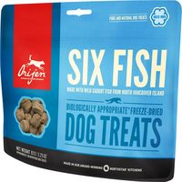 Doplňkové krmivo pro psy všech plemen a všech věkových kategorií. Obsahuje volně lovené ryby ze severu ostrova Vancouver