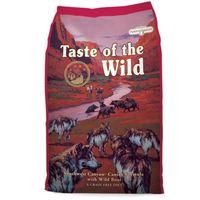 Kompletní krmivo určené pro psy všech věkových stádií. Hovězí, jehněčí, divočák a rybí maso.