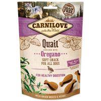 Poloměkká odměna z divočiny (bez obilovin a bez brambor) křepelka obohacená o oregáno - pro zdravé trávení