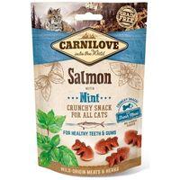 Křupavá odměna z divočiny (bez obilovin a bez brambor) losos s mátou - pro zdravé zuby a dásně