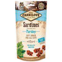 Poloměkká odměna z divočiny (bez obilovin a bez brambor) sardinky obohacené o petržel - pro zdravé trávení