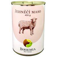 Poctivá konzerva s výjimečně vysokým obsahem unikátního jehněčího masa z plemene Charollais – 70 %.