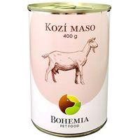 Poctivá konzerva s výjimečně vysokým obsahem unikátního kozího masa – 70 %.