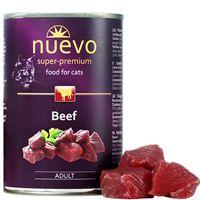 Nuevo kočka adult Hovězí konzerva obsahuje maso nejvyšší kvality, které dodá Vaší kočce bílkoviny vysoké biologické hodnoty.