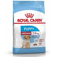 Kompletní krmivo pro psy - speciálně pro štěňata středních plemen (hmotnost v dospělosti 11 až 25 kg) - do 12 měsíců