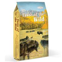 Kompletní krmivo pro psy z bizoního masa a pečeného srnčího masa je exkluzivní kombinací vůně a chutí, kterou váš pes pozná pouze s granulemi Taste of the Wild.